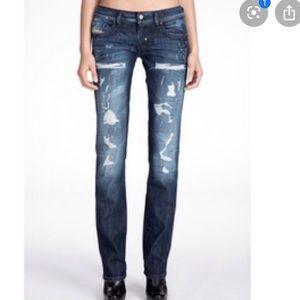 Diesel Lhela distressed jeans 24 x 30